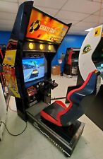 CRAZY TAXI Arcade Sit Down Driving Arcade Video Game Machine! WORKS GREAT!