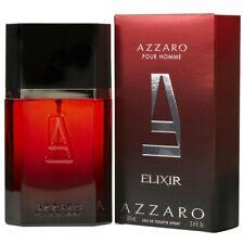 Parfum AZZARO POUR HOMME ELIXIR EAU DE TOILETTE 100ML Neuf et Sous Blister