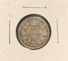 10 Cents 1900 Canada