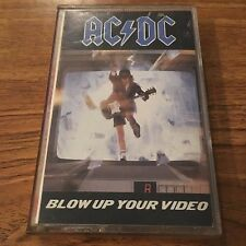 "AC/DC ""Blow Up Your Video"" (Cassette Tape) Free Shipping!"