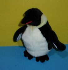 "10"" WADDLES the PENGUIN Bean Plush Stuffed Animal - by Douglas Cuddle Toys"