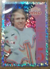 5th Dr Doctor Who Cornerstone Series 1 Foil 5 Chase Trading Card Tardis Davison