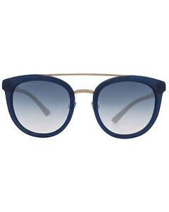 Bvlgari Light Gray Gradient Women's Acetate Sunglasses BV8184B-51454L MSRP $380