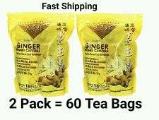 2 Prince of Peace - Instant Ginger Honey Crystals Tea (30*18g Bags) ea pack