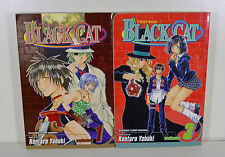 Black Cat Manga Vols. 1 & 3 by Kentaro Yabuki (Shonen Jump)