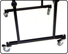 Wheel Kit for DJ Stands (4 Braked wheels)  Ultimax