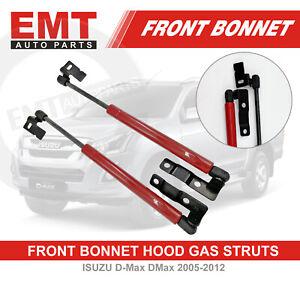 New Front Hood Bonnet Gas Strut Damper Kit Fits ISUZU D-Max DMax 2005-2012
