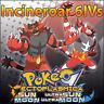 Incineroar 6IV ☀️ Shiny or not 🌙 Battle Ready Pokemon Sun Moon Ultra SM USUM