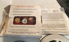 Vintage 1970s NFL New York Jets Helmet Bicycle Hub Caps,With Original Box