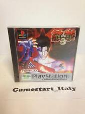 TEKKEN 3 PLATINUM - SONY PS1 PLAYSTATION 1 - NEW SEALED PAL VERSION - NUOVO