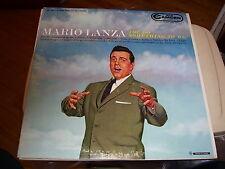 MARIO LANZA-YOU DO SOMETHING TO ME-LP-NM-RCA CAMDEN-MONO-TENOR