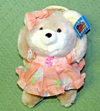 Vintage SOFT EXPRESSIONS Teddy Plush MTY Stuffed Collectible Bear Made in TAIWAN