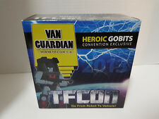 Van Guardian iGear TFCon 2013 Exclusive 3rd Party Transforming Toy New NIP MISB