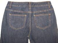 Womens Bobbie Brooks Bootcut Blue Denim Jeans Size 6 Stretch 5 Pocket Style EUC