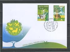 2011. Belarus. Europa-CEPT. Forests. FDC