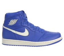 hot sale online 4b498 4d3ea Air Jordan 1 Retro High OG Mens 555088-401 Hyper Royal Blue Sail Shoes Size