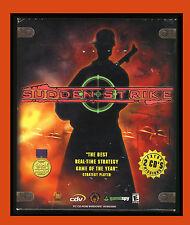 SUDDEN STRIKE (LARGE BOX) (2001) Windows 95/98/2000/ME PC CD-ROM VG Complet