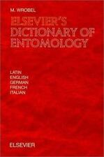 Elsevier's Dictionary of Entomology: In Latin, English, German, French-ExLibrary