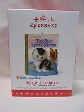 2016 Hallmark Keepsake Ornament The Shy Little Kitten Little Golden Books B2