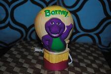 Barney & Friends Bedroom Nursery Lamp Night Light 1992 Hot Air Balloon LYONS