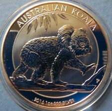 >AUSTRALIA, 2016  KOALA SERIES SILVER COINS, .999%1 Oz Brilliant Uncirculated #3