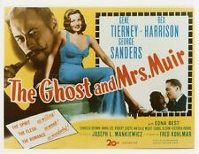 GENE TIERNEY THE GHOST AND MRS. MUIR 1947 VINTAGE PHOTO