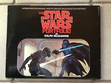 STAR WARS Portfolio Original von 1977 Ralph McQuarrie 21 Motive