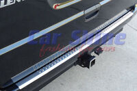 Mercedes W639 Vito BRUSHED STAINLESS STEEL REAR BUMPER PROTECTION SILL no logo