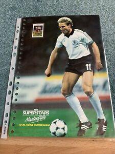 Karl Heinz Rummenigge Bayern Munich Germany Superstars Masterclass