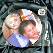 MADONNA OPEN YOUR HEART PICTURE DISC 12'' VINYL RECORD UK LIMITED Promo Hype
