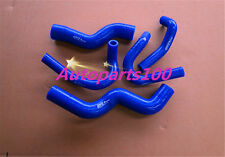 Blue Silicone radiator heater hose for Rodeo TF 2.8L Turbo Diesel 1998-2003
