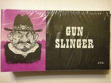 """""""Gun Slinger""""  Christian booklet (1 tract + 1 Random tract)"""