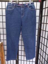 Gloria Vanderbilt Amanda Straight Leg Jeans Size 14 FREE SHIPPING  Z40