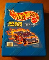 HotWheels Mattel 48 Car Carry Case. 1999 Tara Collection VINTAGE Case Only