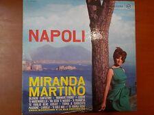 MIRANDA MARTINO vinile 33 giri RCA Silenzio cantatore A Frangesa Torna Surriento