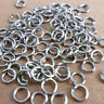 3-9mm DIY Making Jewelry Findings Stainless Steel Opening Jump Rings 500PCS