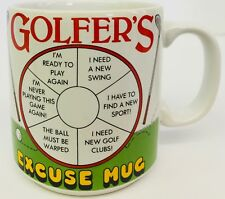 Golfers Excuse Mug The Golf Club Papel Coffee Cup Swing Sport Playing Game