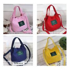 Fashion Women Korean Style Canvas Messenger Shoulder Storage Bag Purse Handbag