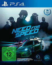 Need For Speed PS4 Game (Sony PlayStation 4, 2015, DVD-Box)