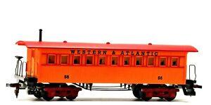 Vintage Tyco Mantua Western & Atlantic Civil War Coach 56 Yellow