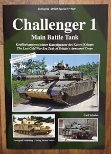 Tankograd British Special 9020: Challenger 1 Main Battle Tank, Softback book