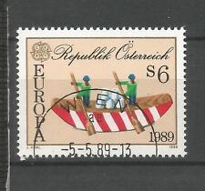 Cept / 1989   Österreich    gest