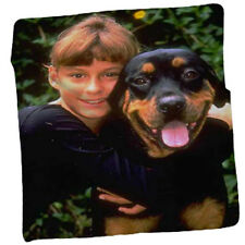 "Personalized & Custom made from your photos - Fleece Blanket 80""x60"""