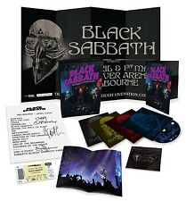 Black Sabbath Gathered In Their Masses Blu Ray DVD Deluxe Box set w/collectibles