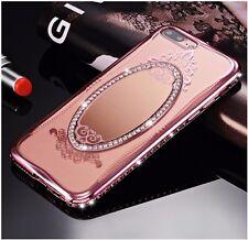 Diamond Crystal Rhinestone Soft Case cover Mirror iPhone/Samsung