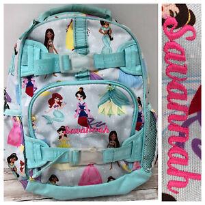 Pottery Barn Kids SAVANNAH Monogrammed Disney Princess Mackenzie SMALL Backpack
