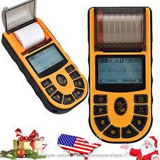 USA Digital 1-channel Handheld Electrocardiograph ECG /EKG Machine with software