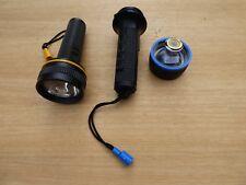 Unilight 2 Taschenlampen Waterproof Uni Lite UK302 Beamaster Lens neuwertig