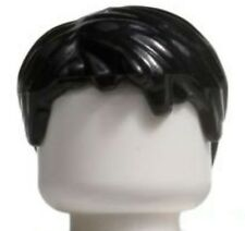 LEGO Black Short Hair Tousled with Side Part for Minfigures NEW
