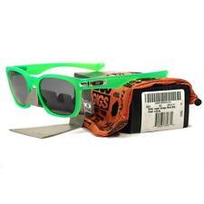 Oakley OO 9175-18 WALLY LOPEZ GARAGE ROCK Matte Green Grey Ltd Series Sunglasses